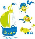 Piratas Imagen de archivo