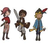Piratas ilustración del vector