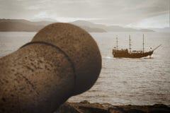 Piratas! imagem de stock