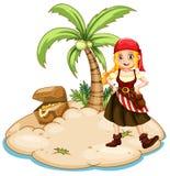 piratas Imagen de archivo libre de regalías