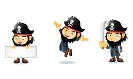 Piratas 1 Foto de archivo libre de regalías