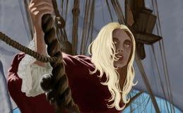 Piratas Stock de ilustración
