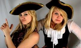Piratas adolescentes Fotografía de archivo libre de regalías