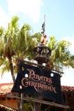 Piratas del Caribe Foto de archivo libre de regalías