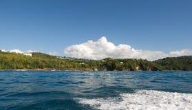 Piratas do lugar e da praia das caraíbas - St Lucia Fotos de Stock