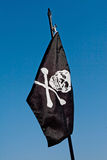 Pirate´s flag Stock Images