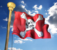 Pirate�flag Stock Photo