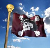 Pirate�flag Royalty Free Stock Photography