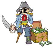 Pirate 01 Royalty Free Stock Photos