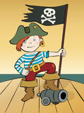 The pirate Royalty Free Stock Image