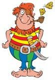 Pirate. Vector clip-art / children's illustration for your design Stock Image