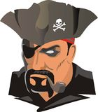 Pirate royalty free illustration