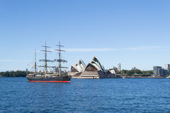 Pirate attack on Sydney Stock Photo