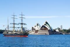 Pirate attack on Sydney Stock Photos