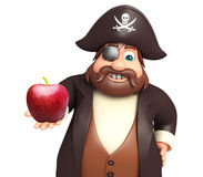 Pirate avec Apple Photos stock