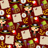 Pirate Background Stock Photo