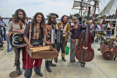 Pirate Band Stock Photography