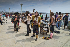 Pirate Band Stock Images