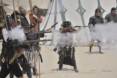 Pirate battle Royalty Free Stock Photography