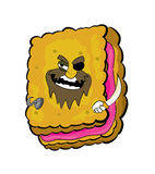 Pirate Biscuit cartoon Royalty Free Stock Photos