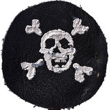 Pirate Black Mark Royalty Free Stock Photo