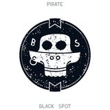 Pirate Black Spot Stock Photo