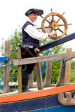 Pirate on board Royalty Free Stock Photography
