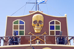 Pirate boat Stock Images