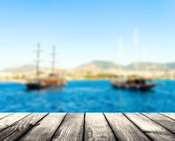 Pirate boat Royalty Free Stock Image