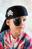 Pirate Boy. Boy dressed up like a pirate Stock Photos