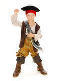 Pirate. Boy in carnival costume pirate Stock Images