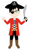 Pirate Boy Costume Royalty Free Stock Image