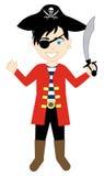 Pirate Boy Costume Royalty Free Stock Image