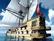 Free Pirate Brigantine Royalty Free Stock Images - 30760239