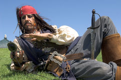 Pirate Captain royalty free stock images