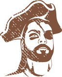 Pirate Captain grunge Royalty Free Stock Photo