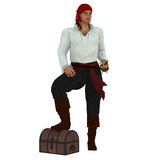 Pirate Captain. Stock Photography