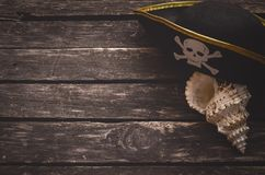 Pirate table. stock images
