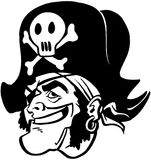 Pirate Cartoon Design Vector Clipart Stock Photo