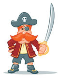 Pirate Cartoon Stock Images