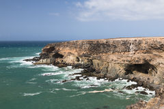 Pirate Caves, Fuerteventura Stock Photography