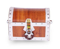 Pirate chest Royalty Free Stock Photos