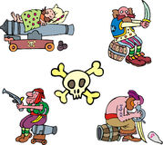 Pirate clipart Stock Images