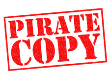 PIRATE COPY Royalty Free Stock Images