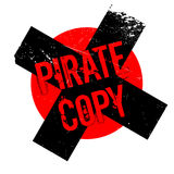 Pirate Copy rubber stamp Royalty Free Stock Images