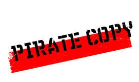 Pirate Copy rubber stamp Stock Image