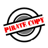 Pirate Copy rubber stamp Stock Photography