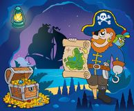 Pirate cove theme image 4 Royalty Free Stock Image