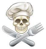 Pirate Crossbones Chef Cartoon Royalty Free Stock Images