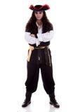 Pirate d'isolement sur le fond blanc photographie stock libre de droits
